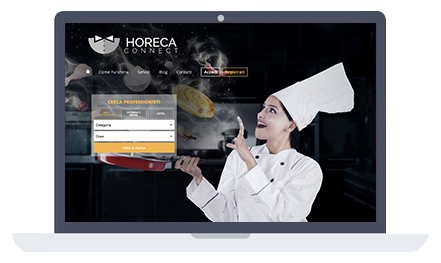Grafica Horeca Connect